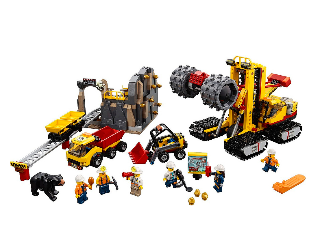 bricklife all about lego lego city 60188 mining. Black Bedroom Furniture Sets. Home Design Ideas